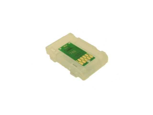 Single-Use Chip for EPSON 786, 786XL, 788XXL CYAN *NORTH AMERICA, AUSTRALIA*