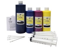 *PIGMENTED* 500ml/250ml Bulk Kit for HP 970, 971, 972, 973, 974, 975, 976, 980, 981, 982, 990, 991, 992, 993