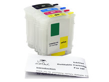 Refillable Cartridge Pack for HP DesignJet 111