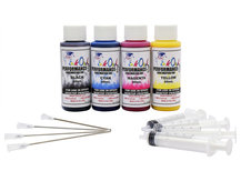 4x60ml Performance-D Sublimation Ink for Epson Desktop Printers