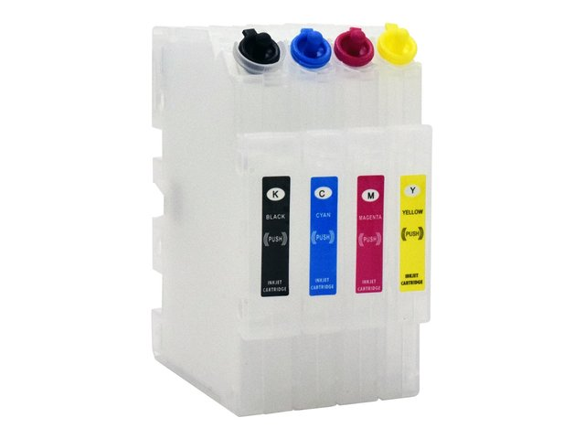 4-Pack Empty Refillable Cartridges for use in Virtuoso® SG400, SG800