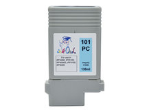 130ml Compatible Cartridge for CANON PFI-101PC PHOTO CYAN