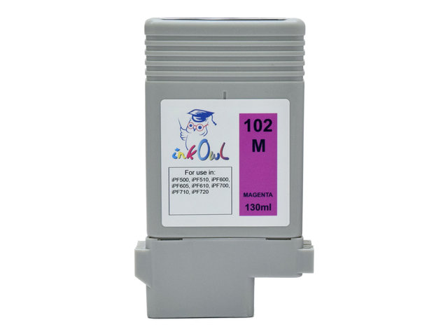 130ml Compatible Cartridge for CANON PFI-102M MAGENTA