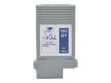 130ml Compatible Cartridge for CANON PFI-103GY GRAY
