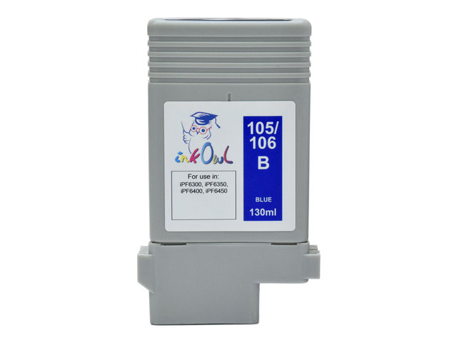 130ml Compatible Cartridge for CANON PFI-105B and PFI-106B BLUE