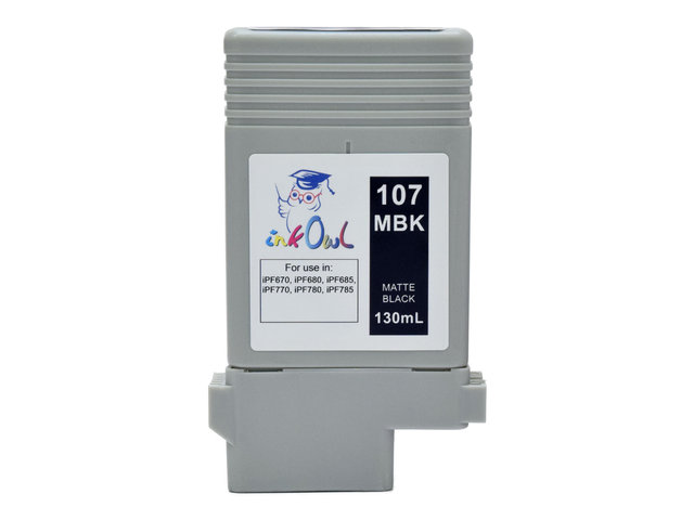 PFI-107 MBK Ink cartridge for Canon iPF670 iPF680 iPF770 iPF780 Matte Black