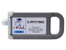 700ml Compatible Cartridge for CANON PFI-1700C CYAN