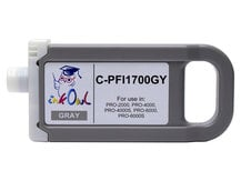 700ml Compatible Cartridge for CANON PFI-1700GY GRAY
