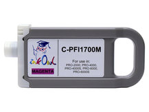 700ml Compatible Cartridge for CANON PFI-1700M MAGENTA