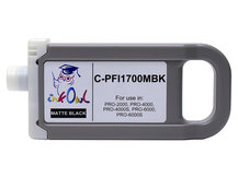 700ml Compatible Cartridge for CANON PFI-1700MBK MATTE BLACK