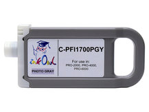 700ml Compatible Cartridge for CANON PFI-1700PGY PHOTO GRAY