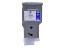 300ml Compatible Cartridge for CANON PFI-206B BLUE