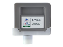 330ml Compatible Cartridge for CANON PFI-304G GREEN
