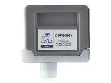 330ml Compatible Cartridge for CANON PFI-306GY GRAY