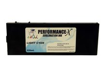220ml LIGHT CYAN Performance-X Sublimation Cartridge for Epson Stylus Pro 9600