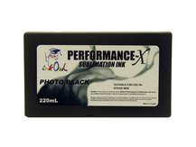 220ml PHOTO BLACK Performance-X Sublimation Cartridge for Epson Stylus Pro 9800