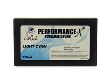 220ml LIGHT CYAN Performance-X Sublimation Cartridge for Epson Stylus Pro 9800