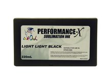 220ml LIGHT LIGHT BLACK Performance-X Sublimation Cartridge for Epson Stylus Pro 9800