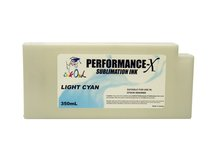 350ml LIGHT CYAN Performance-X Sublimation Cartridge for Epson Stylus Pro 9890, 9900