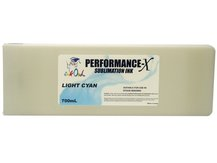 700ml LIGHT CYAN Performance-X Sublimation Cartridge for Epson Stylus Pro 9890, 9900