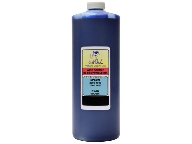 1L CYAN ink for EPSON Ultrachrome K2