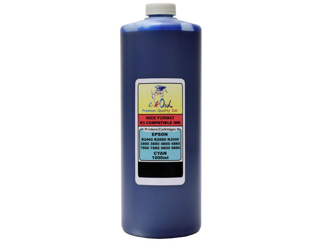 1L CYAN ink for EPSON Ultrachrome K3