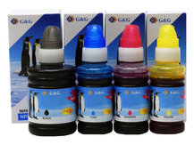4-Pack G&G Compatible Ink Bottles to replace Epson 664/774 for EcoTank ET-3600/4550/16500 Printers