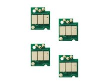 Spare Auto-Reset Chip for BROTHER LC201, LC203, LC205, LC207, LC209 - Set of 4