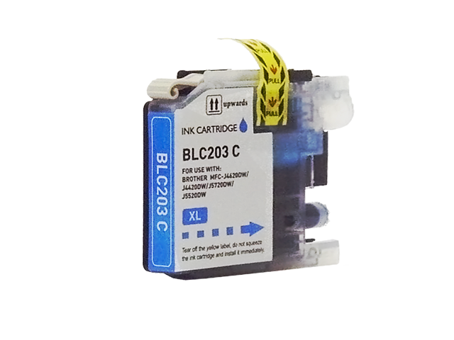 Compatible Cartridge for BROTHER LC203C CYAN