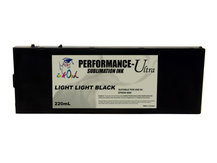 220ml LIGHT LIGHT BLACK Performance-Ultra Sublimation Cartridge for Epson Stylus Pro 4800
