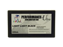 220ml LIGHT LIGHT BLACK Performance-Ultra Sublimation Cartridge for Epson Stylus Pro 7800, 9800