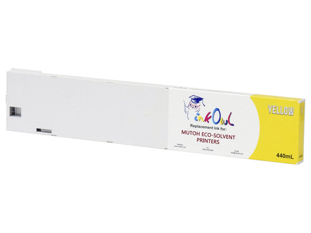 4x440ml InkOwl Compatible Cartridge Pack for Mutoh ValueJet Eco-Ultra Printers