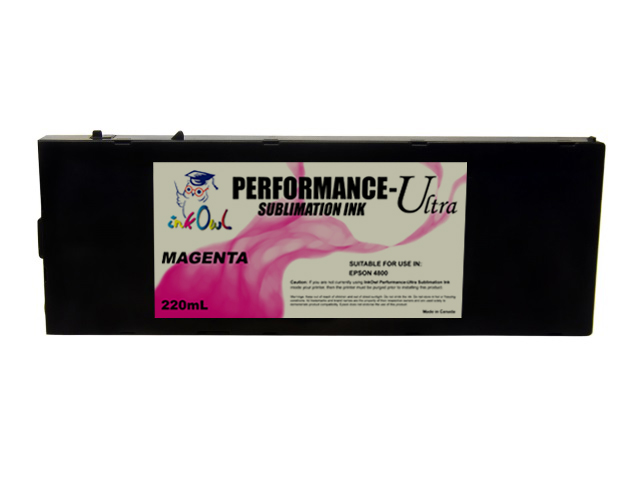 220ml MAGENTA Performance-Ultra Sublimation Cartridge for Epson Stylus Pro 4800