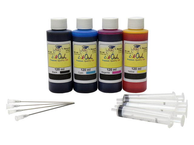 120ml Bulk Kit for most BROTHER printers - InkOwl