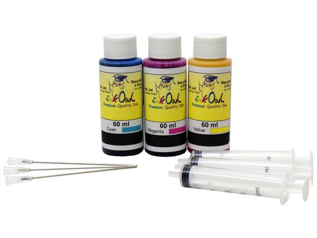 60ml Color Kit for most BROTHER printers