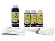 Combo Kit for use in CANON printers - pigment-based black ink
