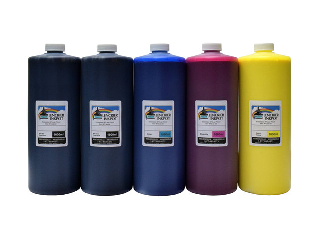 5x1L of Ink for EPSON Stylus Pro 7700, 9700 (Ultrachrome K3