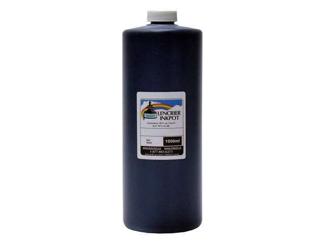 1L of Pigmented Black Ink for EPSON EcoTank Printers using