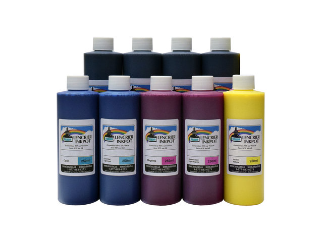9x250ml of Ink for EPSON SureColor P800 - inkpot ca