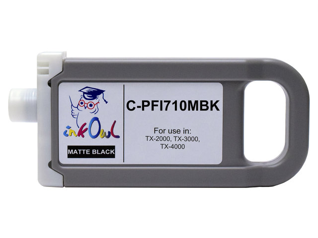 700ml Compatible Cartridge for CANON PFI-710MBK MATTE BLACK