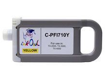 700ml Compatible Cartridge for CANON PFI-710Y YELLOW