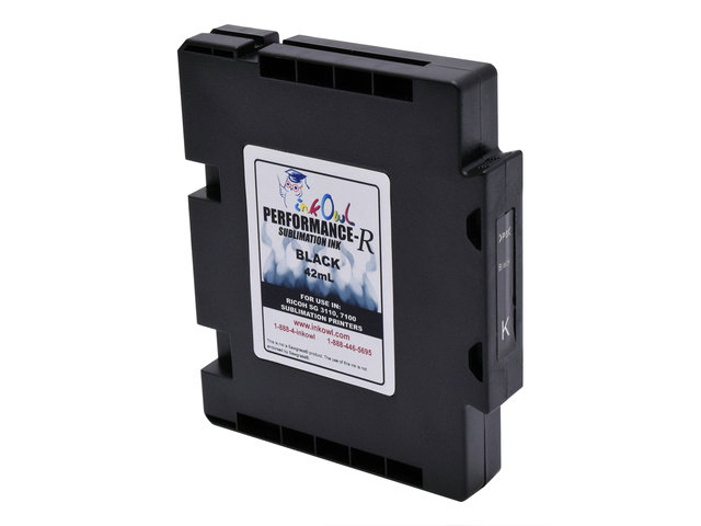 42mL BLACK Performance-R Sublimation Cartridge for use in Ricoh® SG 3110, SG 7100 printers (GC41)