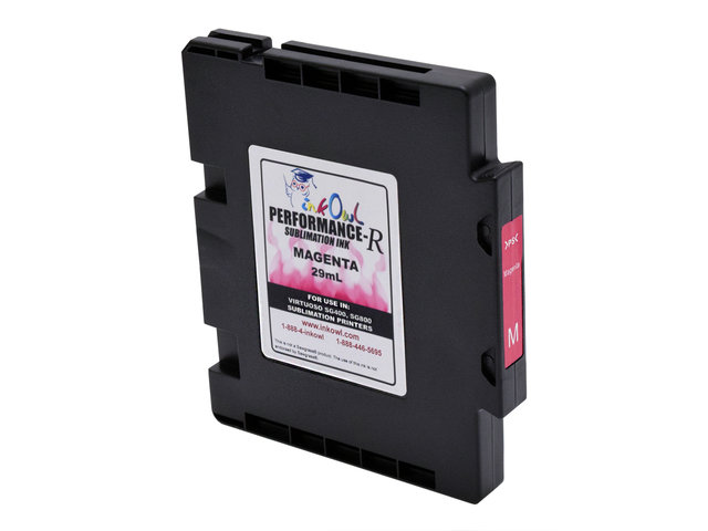 29mL MAGENTA Performance-R Sublimation Cartridge for use in Virtuoso® SG400, SG800 printers