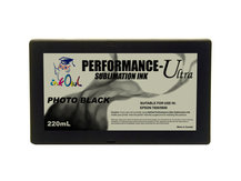 220ml PHOTO BLACK Performance-Ultra Sublimation Cartridge for Epson Stylus Pro 7800, 9800
