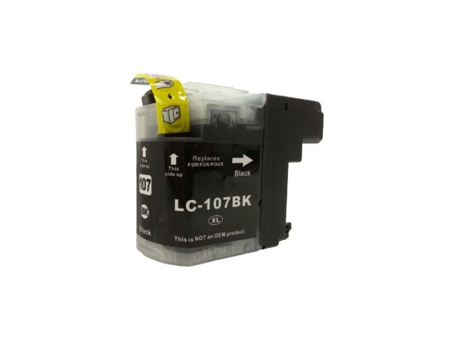 Compatible Cartridge for BROTHER LC107BK BLACK