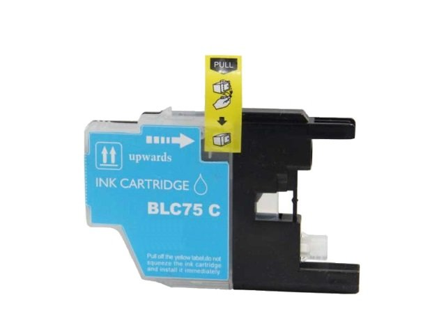 Compatible Cartridge for BROTHER LC75C CYAN