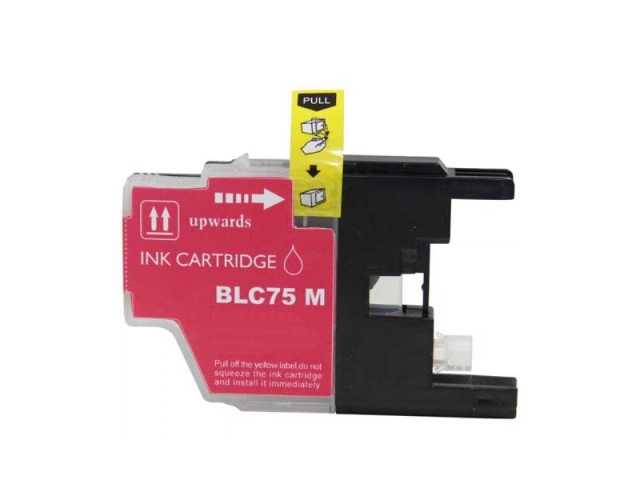 Compatible Cartridge for BROTHER LC75M MAGENTA