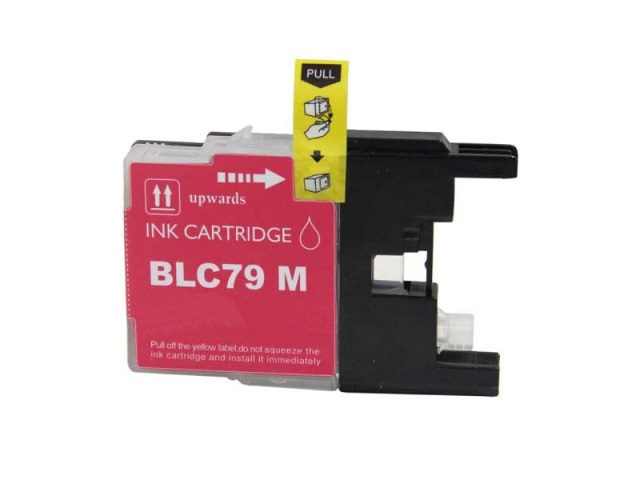 Compatible Cartridge for BROTHER LC79M MAGENTA