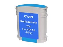 Compatible Cartridge for HP #82 CYAN (C4911A)