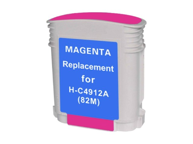 Compatible Cartridge for HP #82 MAGENTA (C4912A)